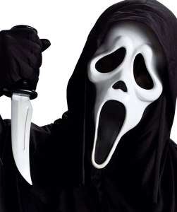 scream4maskknifeset